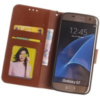 Wholesale galaxy ace leather - Lechee Photo Frame Credit card Wallet Stand leather case cover FOR Samsung Galaxy E5 J1 Mini J105 J1 ace s5 mini Core Prime G360 100pcs lot