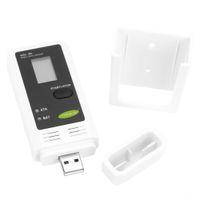 Wholesale Digital Hygrometer Data - Mini Portable USB LCD Digital Temperature Meter Humidity Logger Thermometer Hygrometer PC Connecting Data Recording
