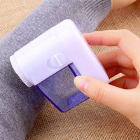Wholesale Shirt Fabrics Wholesale - Portable Lint remover Clothes Lint Pill Fluff Remover Fabrics Sweater Fuzz Shaver Household Travel Clothing Shirt Tool