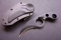 cuchillo fijo de acero inoxidable al por mayor-Ofertas especiales Smith HRT táctico de acero inoxidable cuchilla fija cuchillo de arranque cuchillo caza acampar al aire libre utilidad Favoritos cuchillos