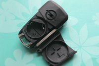 HU100 Uncut Car Key Blank Cover Запасной корпус 3 кнопки Flip Remote Key Shell Fit для Vauxhall Opel Astra Corsa Vectra