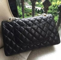 Women black quilted chain strap bag - Original Quality Fashion Brand Quilted Bag Classic Double Flap Quilted Handbags Sheepskin Chain Strap Shoulder Crossbody Bags