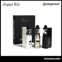 Wholesale Kanger Liquid - Authentic Kanger Juppi Starter Kit with 75w Juppi TC Box Mod & 3ml e-Liquid Capacity Kangertech Juppi Tank DHL Free 100% Original