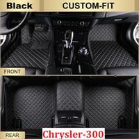 Wholesale Chrysler Model Cars - SCOT Car Floor Mats for Chrysler 300 2012-2017 All Weather Carpets Custom Fits-Black Right-Driver-Model