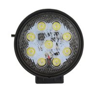 Wholesale Led Offroad Light New - New 4 Inch 27W LED Work Light Spot Flood Round LED Offroad Light Lamps Worklight for Off road Motorcycle Car Truck