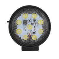 Wholesale car led worklight - New Inch W LED Work Light Spot Flood Round LED Offroad Light Lamps Worklight for Off road Motorcycle Car Truck