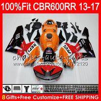 Wholesale F5 Body - Injection Body For HONDA CBR 600 RR CBR600RR 13 14 15 16 17 89HM1 CBR 600RR F5 CBR600 RR 2013 2014 2015 2016 2017 Fairing kit Repsol Orange