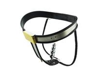 Wholesale Types Female Chastity Belts - Stainless steel Y type female chastity belt type T pants C word pants for chastity chastity metal lock A184