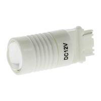 lentes de luz de parada al por mayor-T20 3156 W2.5D 6SMD LED 12V luz blanca 6000K carcasa de cerámica con luces inversas de respaldo de la lámpara Stop Bulbos de lámpara