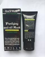 shills máscara de limpieza profunda al por mayor-Hot SHILLS Mascarilla de barro negro Removedor de espinillas Limpiador profundo SHILLS MASCARILLA negra Máscara facial de espinilla negra de 50ML