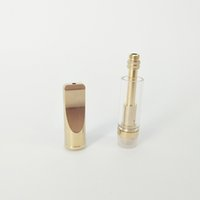 Wholesale Ego Ce4 Oem - OEM logo Disposable Glass Tube atomzier Dual BVC Coil 510 Cartridge For concentrate thick Co2 oil VS CE3 CE4 CE5 ego atomizer