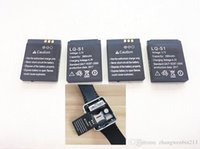 Wholesale Watch Mobile Phone Free Shipping - Hot selling 2017 new original authentic DZ09 smart watch mobile phone battery 380 MAH battery watch battery free shipping