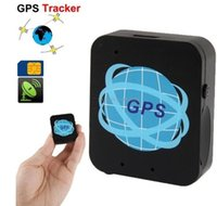 Wholesale Real Time Personal Gps Tracker - GPS tracker SOS GSM personal locator mini global real time 4 Bands GSM GPS tracking