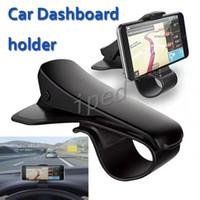 cradle entwürfe großhandel-Universal Car Mount Holder Simulieren Design Autotelefonhalter Cradle Einstellbare Armaturenbrett Halterung für sicheres Fahren für iPhone 8 Note 8
