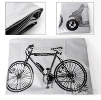 ingrosso copertura antipolvere impermeabile bicicletta-Lots60 Copertura antipolvere per biciclette Copertura antipioggia e antipioggia Protezione impermeabile Custodia per biciclette Parti per biciclette Accessori per bici Spedizione gratuita