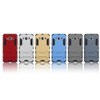 баллистический жесткий футляр оптовых-Баллистический гибридный броня жесткий PC ТПУ телефон Case для Samsung Galaxy J120 J510 J710 2016 J1 J5 J7 J3 Pro стенд противоударный Kickstand обложка кожи