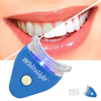 Wholesale Whitening Dental Kit - White LED Light Teeth Whitening Tooth Gel Whitener Health Oral Care Toothpaste Kit For Personal Dental Mouth Care Healthy