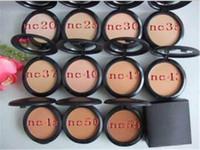 Wholesale mineral makeup pressed powder - 2017 new makeup face powder bare mineral NC Powder Brand M C Cosmetic VS laura mercier powder