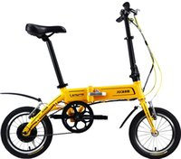 Wholesale Electric Bicycle Frame - Foldable electric bicycle super light lithium battery aluminum alloy frame PAT electric bicycle
