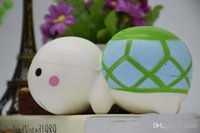Wholesale Turtle Cute - Hot sale Jumbo Kawaii Scented Cute Tortoise Squishy Slow Rising Cream Scented Turtle Bun squishies Decompression Toys