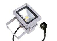 12v impermeable cambio de color remoto al por mayor-Reflector de 12V 10W LED Reflectores impermeables al aire libre RGB Blanco cálido Blanco frío Proyector Lámparas de pared 16 colores que cambian con control remoto