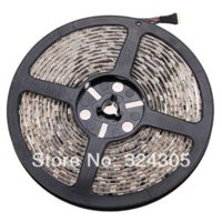 1x 5M 300 LED WATERPOOF 5050 SMD 12V luz de tira flexible Auto + IR remoto RGB al por mayor