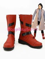 Wholesale Riders Mask - Wholesale-Newest Custom Made Japanese Anime Masked Rider W Kamen Rider W Cosplay Shoes Long Boots For Halloween Christmas CosplayLove