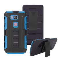 Wholesale Colorful Nexus Cases - For Huawei Union Y538 Nexus 6P Nexus 7 Y301 M931 Silicone PC Colorful Robot Holster Combo Case Tough Hybrid Kickstand Belt Clip Cover