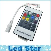 Wholesale Rigid Mini - Mini 20 Keys LED RGB Controller With FR Wireless Remote Control For SMD 3528 5050 RGB LED Rigid Strip