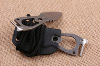 Wholesale Timberline Keychain - Tactical Knife New Timberline 1911 Multifunction Tool EDC Pocket D2 58HRC Blade Keychain Knife Best Gift With Opener K Sheath F703E