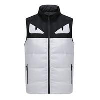 Wholesale Cheap Army Vests - 2017 New Arrival Hot Sale Cheap fendy Men's Vest Jacket Black Red Navy Brown Autumn Light Coat Online Free Shipping