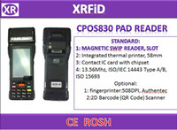 Wholesale Card Reader Printer - CPOS830 Integrated thermal printer 58MM And Magnetic Swip Reader Contact IC card with chipset rfid nfc pad reader