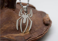 South American spider man necklace - Movie Jewelry Superhero Spiderman Necklace For men and women Simple Design Spider man Pendant Necklaces