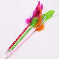 stylo plume de bureau achat en gros de-Stylo plume de couleur festive, fournitures de Noël en gros, stylo à bille grasse, fournitures de bureau