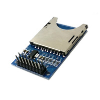 Wholesale Arduino Sd Reader - 1Pc SD Card Module Slot Socket Reader For Arduino ARM MCU Read And Write B00215 BARD