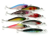 600pcs 8CM 6.3G 8 # крючки Жесткий пластик Minnow Fishing Lures Crankbait Crank Bass Wobbler Bait Fishing Bait