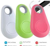 carteiras de telefone frete grátis venda por atacado-Rastreador GPS Anti-Perdido Dispositivo de Roubo de Alarme Bluetooth Remoto, Criança Pet Bag Carteira Chave Localizador Caixa de Telefone DHL frete grátis (com caixa de varejo)