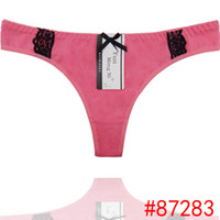 Wholesale Hot Sexy Lingerie Underpants - HL87283 Wholesale Cheap ladys Sexy Cotton Thong, Hot Sale High Quality Lace Thong, Women Sexy Underwear, Underpant, Underwear, Lingerie