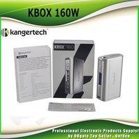 Wholesale Ecig Kanger Protank - Authentic Kanger KBox 160W TC Box Mod Kangertech KBOX 160 ecig Mods Temp Control Mode Ni Ti SS NiCr fit genuine Protank 4 DHL Free 2211068