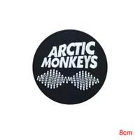 monos de roca al por mayor-Arctic Monkeys Sew Iron On Patch Rock Band Logotipo de Metal pesado Parche bordado para ropa de moda