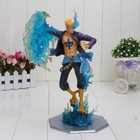 Wholesale One Piece Dx - One Piece DX MAS Marco - The Phoenix Battle Ver. Boxed P.O.P POP boxed PVC Action Figure Collection Model Toy approx 25cm