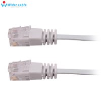 Wholesale Lan Meter - Grey Color 0.5 Meters CAT6 Network cable Lan Cable Ethernet Patch Cord Cable Flat Molded 1.1MM Thickness