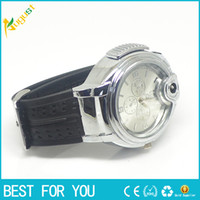 Wholesale New Gas Cigarette - New Novelty Collectible Watch Cigarette lighter usb lighter torch jet lighter new hot