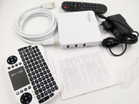 Wholesale Pandora Mouse - MXQ plus 1080P Android TV BOX + Air mouse keyboard Quad Core HDMI XBMC   Kodi fully loaded Miracast DLAN 1G 8G Mush up youtube