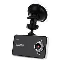 grabador de vedio al por mayor-2.7 pulgadas K6000 Car DVR Video Dash Cam Recorder Full HD 1080 P Dual LED de visión nocturna Video Registrator Cámara Coche