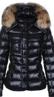 Wholesale White Fashion Jackets For Women - M95 ARMOISE parkas for women winter jacket Winter Coat Ladies anorak women coats with real raccoon fur jackets