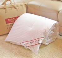 Wholesale Cotton Comforter Quilt - 100% Mulberry Silk Filled Comforter Quilt Duvet Coverlet 1kg Doona Blanket Bedding
