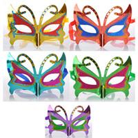 maskeli parti dekorasyonları satılık toptan satış-Son çıkan Satış Cadılar Bayramı Çılgın Parti Maskeleri Masquerade Süslemeleri Maskeleri Okul Masquerade Kelebek Stil DHL 7-10 Gün