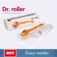 Wholesale Care Cosmetics Products - Best selling products Dr.roller 192 derma roller titanium fine needle cosmetic beauty personal care