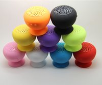 Cheap High Quality Mini Speaker BTS-06 Waterproof Mushroom Bluetooth Speaker Sucker Subwoofer Handfree Holder Car Bathroom Speaker Venda por atacado